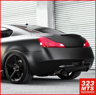 INFINITI G35 G37 ACURA WHEELS RIMS STANCE SC5 MATTE BLACK WHEELS RIMS