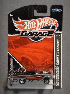 HOT WHEELS GARAGE REAL RIDERS FORD 65 MERCURY COMET CYCLONE #13 NEW
