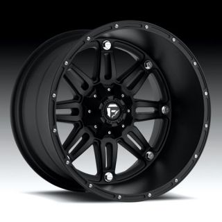 Hostage XD Black 24x11 Ford Chevy Dodge Truck Rims Wheels Set