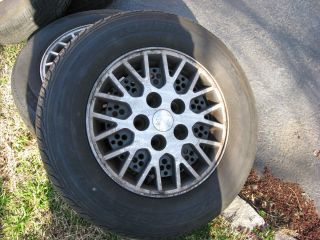 1989 Ford Probe Alloy Wheels with Tires