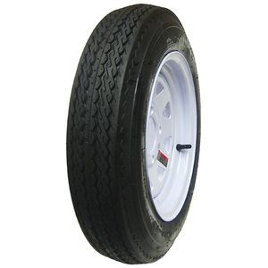 Trailer Tires St 175 80R13 Radial White Spoke Wheels Rims 13