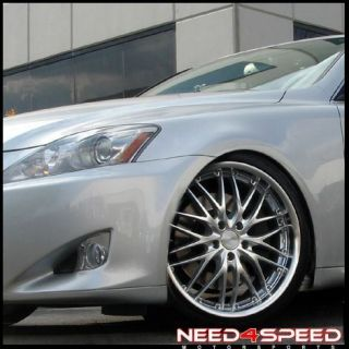 19 Lexus Is IS250 is350 MRR GT1 Staggered Rims Wheels