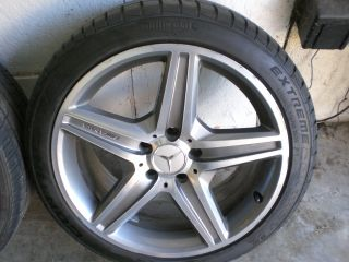 MERCEDES E63 AMG OEM WHEELS & TIRES RIMS SET 18 E CLASS E500 E350 CLK