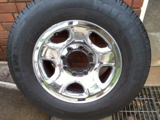 Dodge RAM 2500 Wheels and Tires 17 Wheels GD Cond Tires 265 70 17 Set