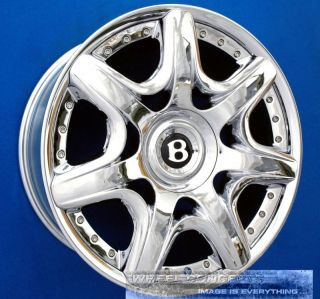 Continental GT Mulliner 20 inch Chrome Wheel Exchange Rims 20