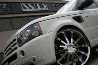 24 inch Land Range Rover HSE Chrome Wheels Rims 5x120