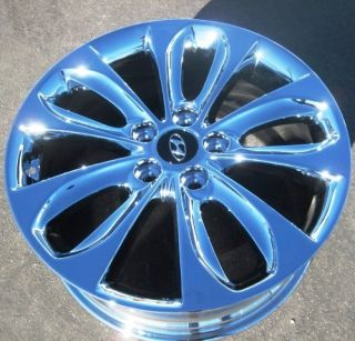 Your Stock 4 New 18 Factory Hyundai Sonata Chrome Wheels Rims