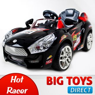 Hot Racer Kids Electric Power Ride On Car  & RC Remote Sport Wheels