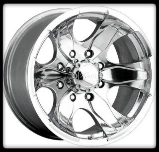 ALLOY 187P WARRIOR POLISHED 5X5 5 ECONOLINE F150 RAM VAN WHEELS RIMS