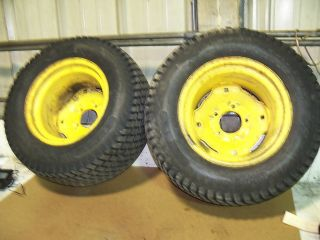 John Deere 425 AWS Rear Tires and Rims 23x10 50x12