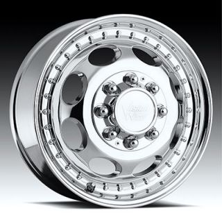 Heavy Hauler Ford F 250 F 350 Vision Dually Wheels Rims Chrome