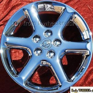 NEW 17 NISSAN MAXIMA OEM CHROME WHEELS RIMS ALTIMA 350Z 300ZX 62401