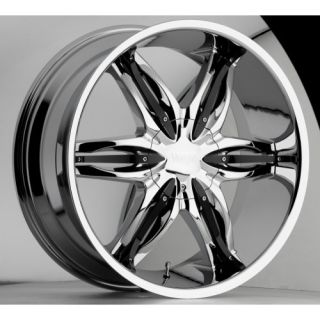 778 Chrome Wheels Rims 5x115 25 Dodge Charger Magnum 300C