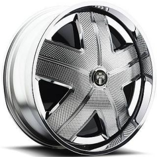 32 Dub Spin Ham Wheel Set Chrome Spinner 32x10 rwd 5 6 Lug Rims