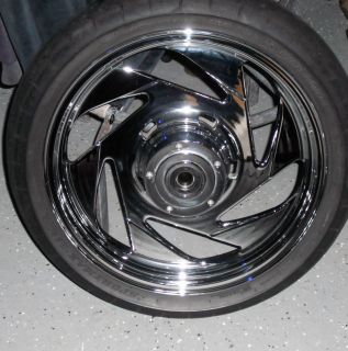 Boulevard M109r Vzr 1800 Chrome Rims Front Rear Wheels are Stock OEM