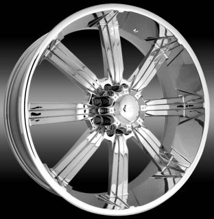 26 Chrome Rims Dodge Ford Chevy Hummer Wheels Tires Dub