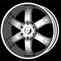 24 KMC Brodie Rims Wheels Chrome 24x9 5 30 6x135
