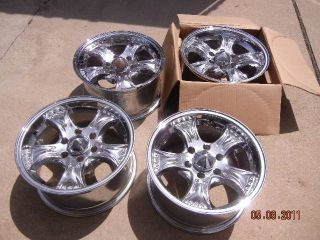 Chevy Trailblazer GMC Envoy 16 Cragar Rims Set of 4