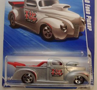 Hot Wheels 40 Ford Pickup Silver MOC