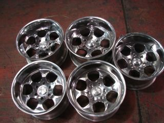 17x10 Polished Wheels Rims Toyota FJ Cruiser Tacoma