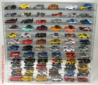 Redline Hot Wheels 1 64th Diecast Display Case 72 SS