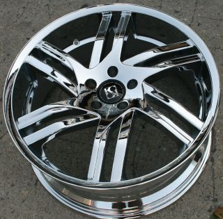 KOUTURE SPLINE 20 CHROME RIMS WHEELS JAGUAR X TYPE 02 08 20 x 8 5 42