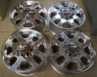 Chevy Silverado HD 2500 3500 8 Lug 18 OEM Factory Wheels Rims Sierra