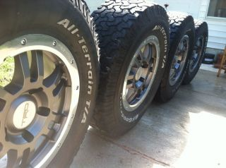 Rock Warrior TRD Forged Rims Wheels RARE No Tires