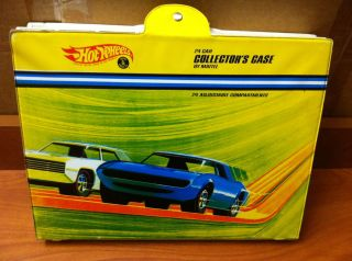 K1 46 Hot Wheels 24 Car Collectors Case by Mattel Inc from 1968 Great