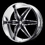20 Inch Chrome Wheels Rims Hummer H3 Chevy Colorado GMC Canyon 6 Lug