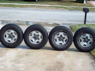 ZR2 Rims Tires 31x10 50x15 Chevy Highrider S10 GMC Blazer Jimmy