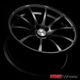 inch Matte Black V701 Wheels BMW 3 Series E46 M3 325 328 330