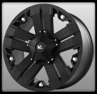 ROCK OFF ROAD RECON VR3 MATTE BLACK DURANGO RAM F150 FORD WHEELS RIMS