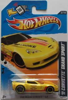 2012 Hot Wheels 11 Corvette Grand Sport Col 162 Toys R US Exclusive