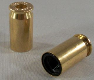 45 Cal Brass Bullet Custom Valve Stem Caps for Motorcycle Car Rims
