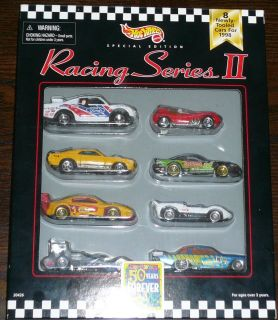 Hot Wheels Racing Series II 50 Years Forever Fun Error 8 Pack Set