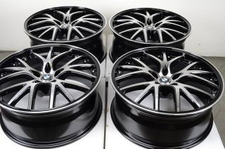 Rims Black BMW M5 M6 528 M3 535 540 550 525 530 7 Series Effect Wheels