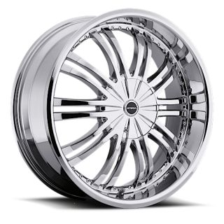 18 inch 5x108 5x4 5 Chrome Wheels Rims 5 Lug Ford Acura Nissan Toyota