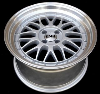 17x8 17x9 17 LM Wheels Rims 5x112 ESM Style 004 Mercedes Audi VW