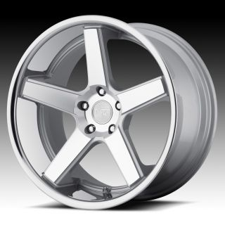 20 inch Niche Nurburg Silver Wheels Rims Staggered 5x120 BMW 5 6