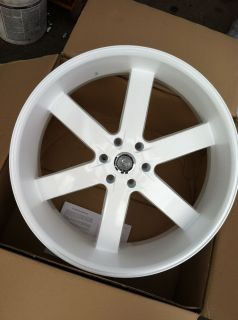 26 U2 55 White 6x135 Rims Tires Ford F150 Navigator Expedition 295 30