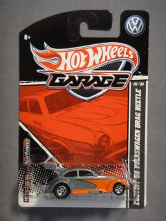 Hot Wheels Garage Real Riders Custom 56 Volkswagon Drag Beetle Box L