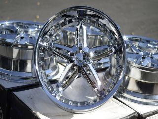 20 New Chrome VCT Wheels Rims 5x115 Chrysler 300 Dodge Challenger Srt8