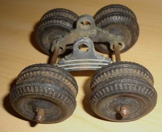 Hubley Log Truck Trailer Wheels Set Parts