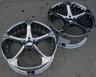 Giovanna Dalar 5V 22 Chrome Rims Wheels CLS 55 AMG