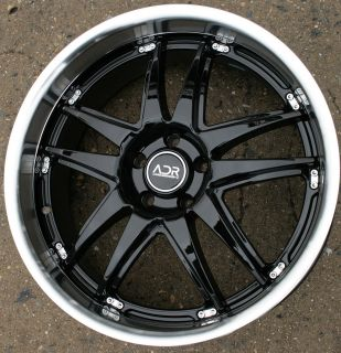 Adr Decadence 20 Black Rims Wheels Chevy HHRs 06 Up 20 x 8 5 5H 35
