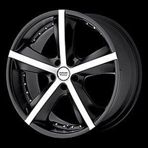 American Racing 88229034715 Phantom Series 882 Black Wheel