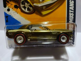 Hot Wheels 2012 116 67 Ford Mustang Coupe Mystery Super Treasure Hunt