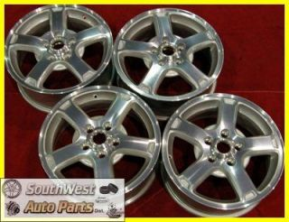 CHEVY IMPALA MONTE CARLO 16 MACHINED SILVER TAKE OFF WHEELS OEM 5164