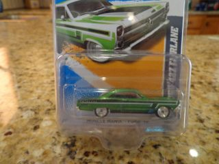 2012 Hot Wheels Super Treasure Hunt 66 Ford Fairlane 427 T Hunts Mint